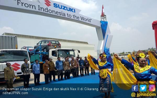Suzuki Dapat Kado Spesial di Ultah KPU Bea dan Cukai - JPNN.com