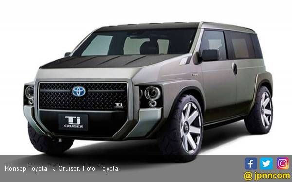 Toyota TJ Cruiser Sudah Mendarat ke Filipina - JPNN.com