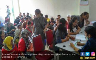 Ribuan Pekerja Migran Indonesia Dipulangkan dari Malaysia, Ini Alasannya