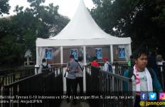 Antrean Tiket Laga Timnas U-19 Indonesia vs UEA Masih Sepi - JPNN.com