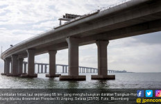 Tiongkok Rampungkan Jembatan Lintas Laut Terpanjang di Dunia - JPNN.com