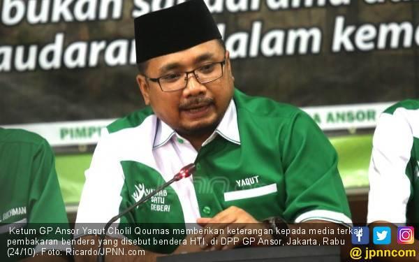Ketum GP Ansor Tegaskan yang Dibakar Bendera HTI - JPNN.com
