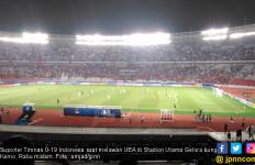 Penonton Laga Indonesia Vs UEA Tak Seramai Saat Lawan Qatar - JPNN.com