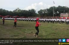 1.000 Pelajar Poco-poco di Pekan Kerja Nyata Revolusi Mental - JPNN.com