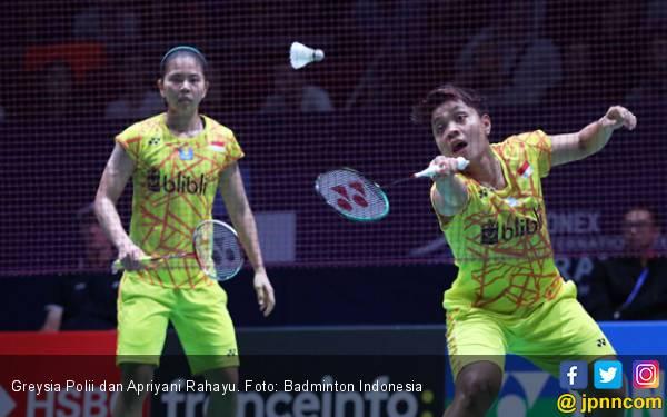 Susah Payah, Greysia / Apriyani Tembus Semifinal Malaysia Masters - JPNN.com
