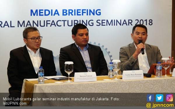 Komitmen Mobil Lubricants Majukan Industri Manufaktur - JPNN.com