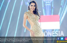 Nadia Purwoko Juara Tiga Miss Grand International 2018 - JPNN.com