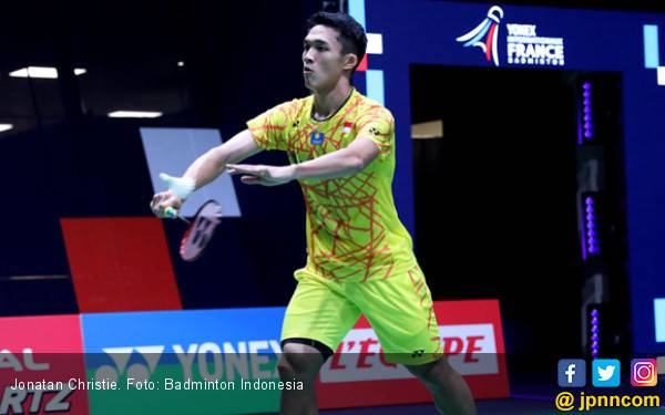 French Open: Untuk Kelima Kalinya, Jojo Kalah dari Chen Long - JPNN.com