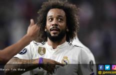Lihat! Marcelo Rayakan Tekelnya Kepada Messi Seperti Sebuah Gol - JPNN.com