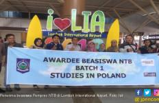 Pemprov NTB Berangkatkan 13 Penerima Beasiswa S2 ke Polandia - JPNN.com