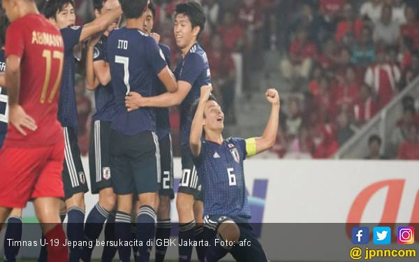 Jepang Bikin Mimpi Indonesia ke Piala Dunia U-20 Buyar - JPNN.com
