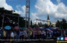 Kolekte 5.000 Umat Katolik Pesparani Disumbangkan ke Sulteng - JPNN.com
