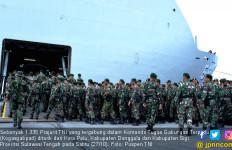 Masa Tanggap Darurat Berakhir, 1.335 Prajurit TNI Ditarik - JPNN.com