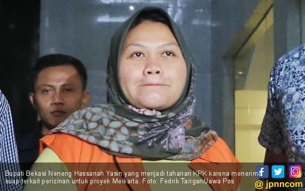 DPRD Batal Umumkan Pengunduran Diri Neneng Hasanah Yasin - JPNN.com