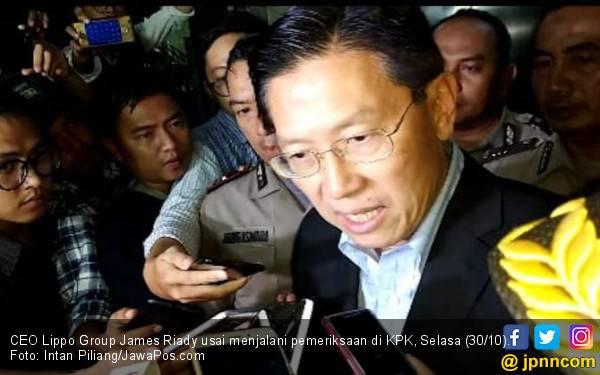 Di KPK, James Riady Mengaku Bersih dari Suap Proyek Meikarta - JPNN.com
