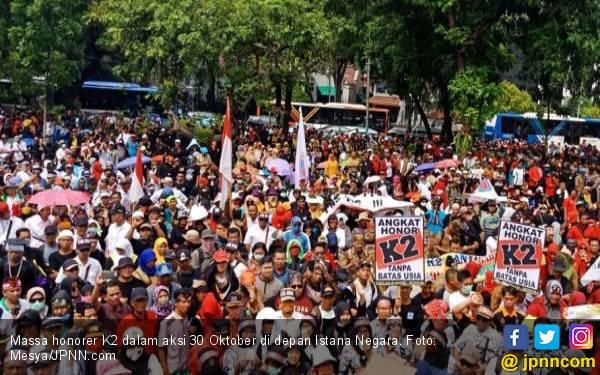 5 Alasan Silatnas Honorer K2 dengan Presiden Jokowi Hari Ini Dibatalkan - JPNN.com
