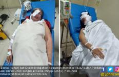 Detik – detik Desi Disiram Air Keras oleh Suaminya, Sadis! - JPNN.com