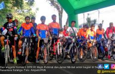 Anggota Komisi X Ikut Meriahkan Sepeda Nusantara Salatiga - JPNN.com