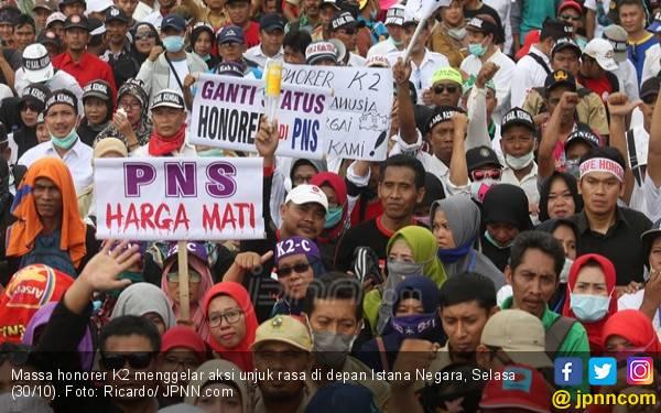 Perjuangkan Honorer K2, ADKASI Fokus Desak Revisi UU ASN - JPNN.com