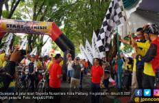Luar Biasa, Sepeda Nusantara Padang Diikuti 8.000 Peserta - JPNN.com