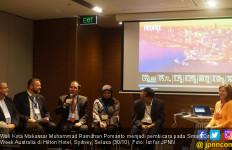 Danny Pomanto Beber Cara Genjot Ekonomi Makassar di Sydney - JPNN.com