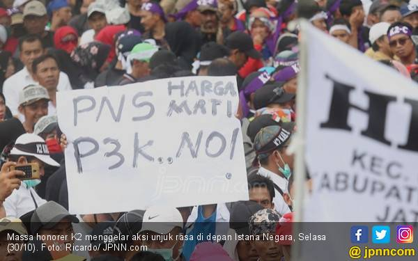 Yakin Presiden Jokowi Angkat Honorer K2 menjadi PNS - JPNN.com