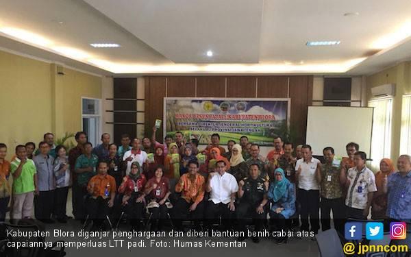 LTT Padi Meningkat, Kementan Beri Blora Bantuan Hortikultura - JPNN.com
