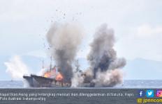 26 Kapal Ikan Asal Vietnam Ditenggelamkan di Pulau Natuna - JPNN.com
