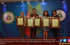 Grup Danone di Indonesia Sabet 5 Penghargaan IPRA 2018 - JPNN.com