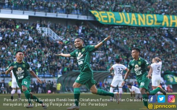 Persija Menang Jumlah Offside, Persebaya Unggul Segalanya - JPNN.com