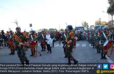 Tampil Atraktif, Pasukan Garuda Memukau Ribuan Warga Lebanon - JPNN.com
