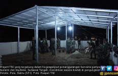 TNI Mendirikan Sarana Ibadah di Pengungsian Petobo Kota Palu - JPNN.com