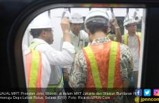 Jokowi Jajal MRT Bundaran HI - Lebak Bulus, Ini Komentarnya - JPNN.com