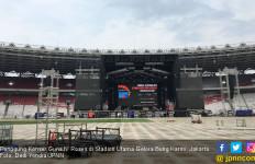 Konser Guns N Roses Pastikan Tak Rusak Rumput GBK - JPNN.com