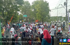 Ribuan Pegowes Sepeda Nusantara di Demak Tempuh 15 Kilometer - JPNN.com