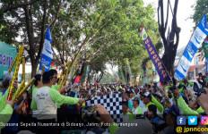 Tentara Repoeblik Onthel Meriahkan Sepeda Nusantara Sidoarjo - JPNN.com