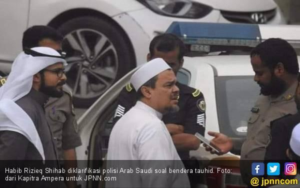 Polisi Arab Saudi Periksa Habib Rizieq soal Bendera Tauhid - JPNN.com