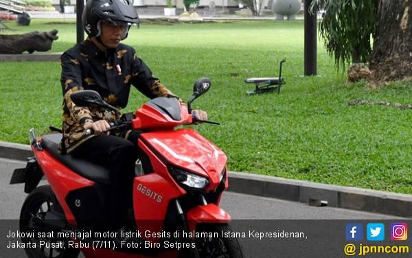 Jokowi Pengin Jadi Orang Pertama Beli Gesits, Cek Harganya! - JPNN.com