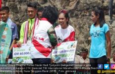Odekta Elvina Naibaho Raih Juara Kategori 21K Nasional Putri - JPNN.com
