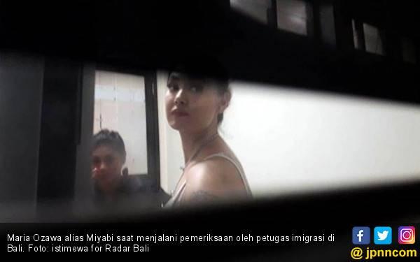 Imigrasi Bali Ciduk Miyabi Seusai Party - JPNN.com