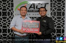 Cara Mobil123 Bangkitkan Semangat Korban Gempa Lombok - JPNN.com
