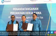 BTN Jalin Kerja Sama dengan Bluebird - JPNN.com