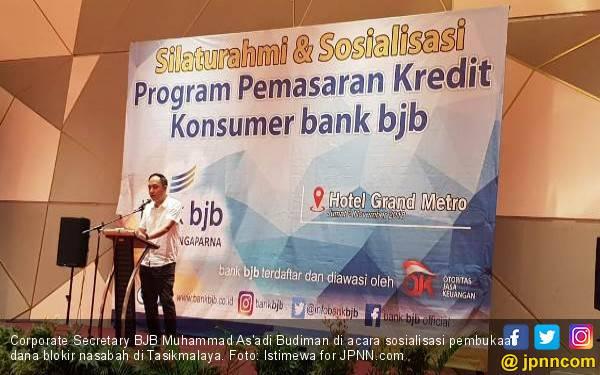 BJB Sosialisasi Pembukaan Blokir Dana Nasabah - JPNN.com