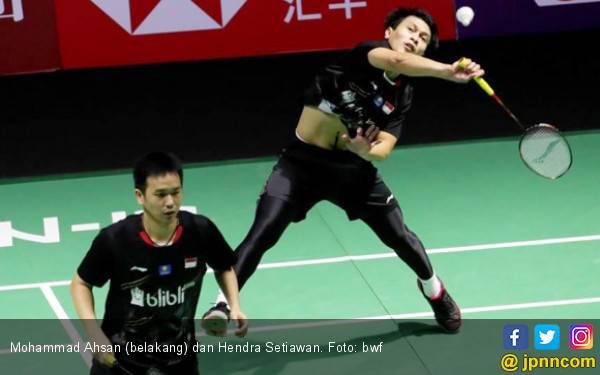 Ahsan / Hendra Bawa Indonesia Juara Umum di New Zealand Open 2019 - JPNN.com