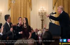 Cekcok dengan Trump, Wartawan CNN Dicekal Gedung Putih - JPNN.com