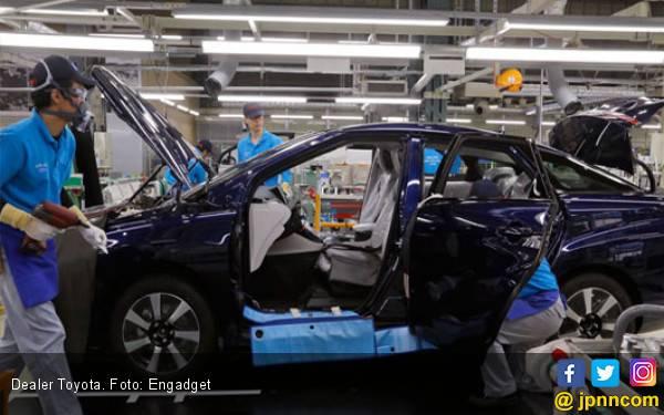 Toyota Kembangkan Pembakaran Hidrogen Tekan Emisi di Pabrik - JPNN.com