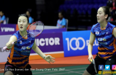 Pukul Juara Dunia, Lee / Shin Jawara Fuzhou China Open 2018 - JPNN.com