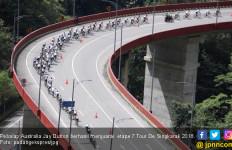 Pembalap Australia Rajai Etape Tujuh Tour de Singkarak 2018 - JPNN.com