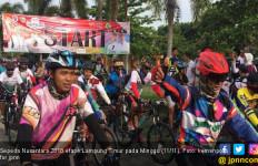 Even Gowes Sepeda Nusantara di Lampung Timur Meriah - JPNN.com