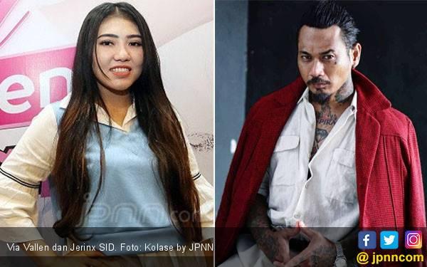 Via Vallen Pernah Bikin Jerinx SID Menangis, Kok Bisa? - JPNN.com